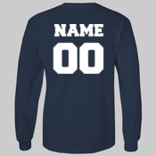 Long Sleeve T-shirt w/ Name and Number