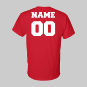 PCAA T-shirt w/ Name and Number