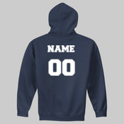 PCAA Hoodie w/ Name and Number
